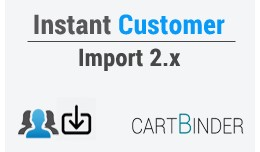Instant customer import 2.x with new password creation tool